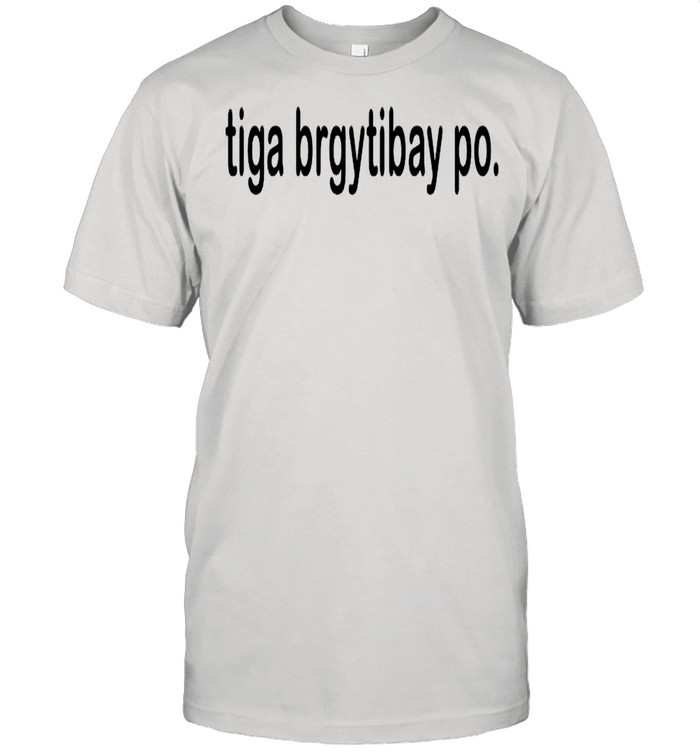 Tiga Brgy Tibay Po shirt Classic Men's T-shirt
