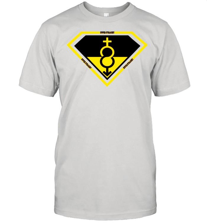 Super Straight Identity Gender Identity tshirt Classic Men's T-shirt
