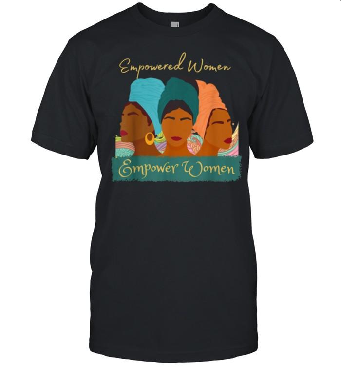 Black History Woman Empowerment African American shirt Classic Men's T-shirt