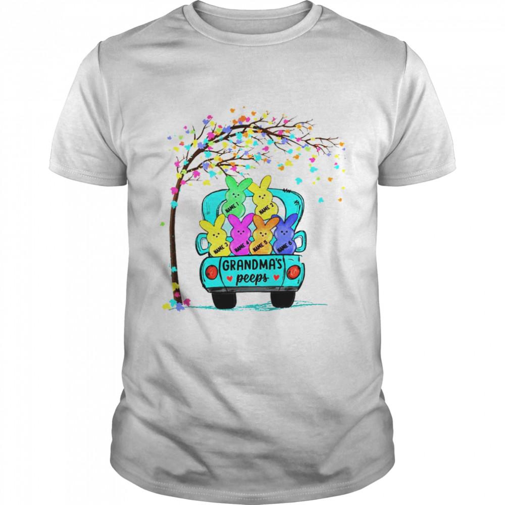 Personalized Grandma Peeps Easter shirt Classic Men's T-shirt