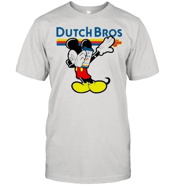 Dutch Bros Coffee Mickey Mouse Disney  Classic Men's T-shirt