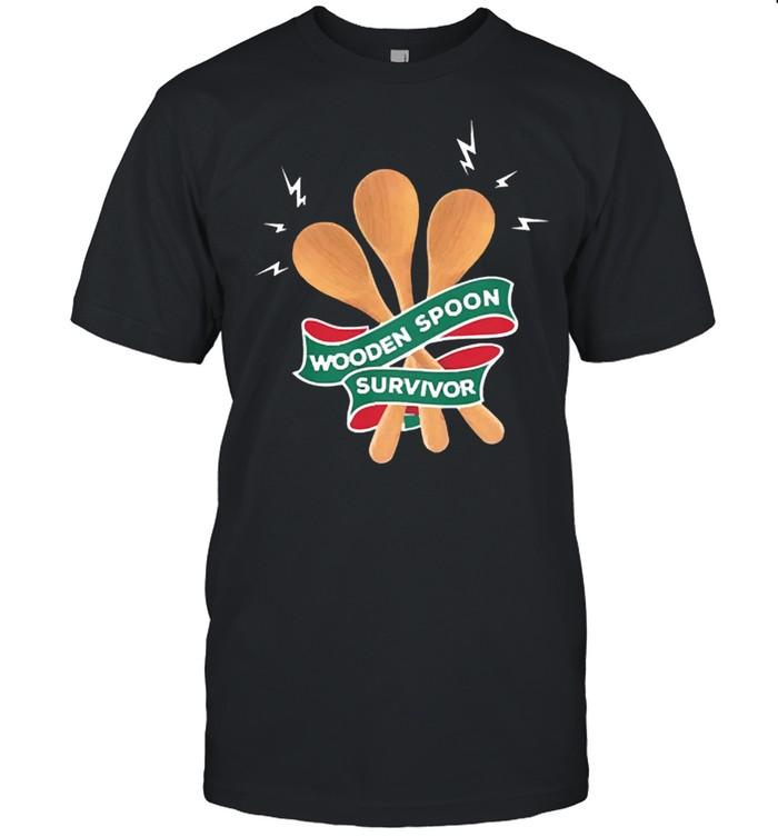 Wooden spoon survivor shirt Classic Men's T-shirt