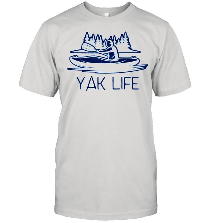 Kayaking Yak Life Kayaker's shirt Classic Men's T-shirt