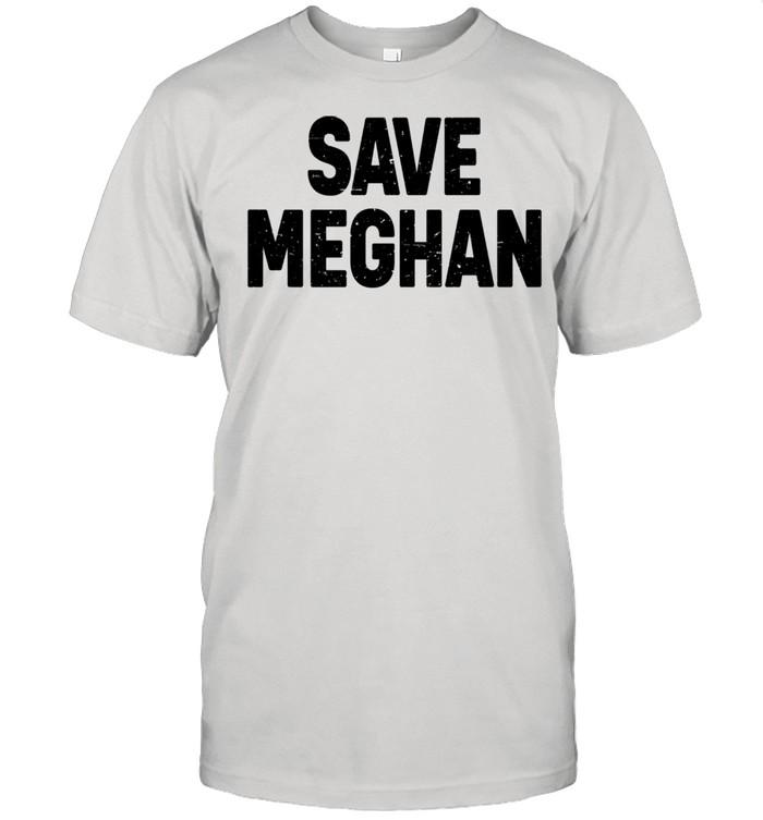 Save Meghan Markle Prince Harry British Royals Interview shirt Classic Men's T-shirt