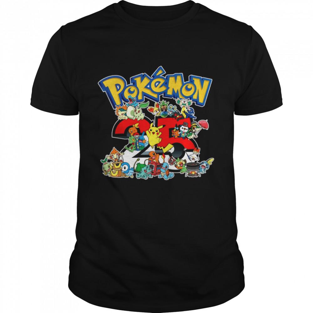 25 years of Pokémon shirt Classic Men's T-shirt