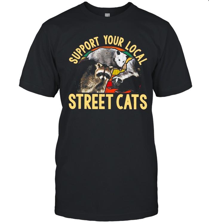 Support Local Street Cats Vintage shirt Classic Men's T-shirt