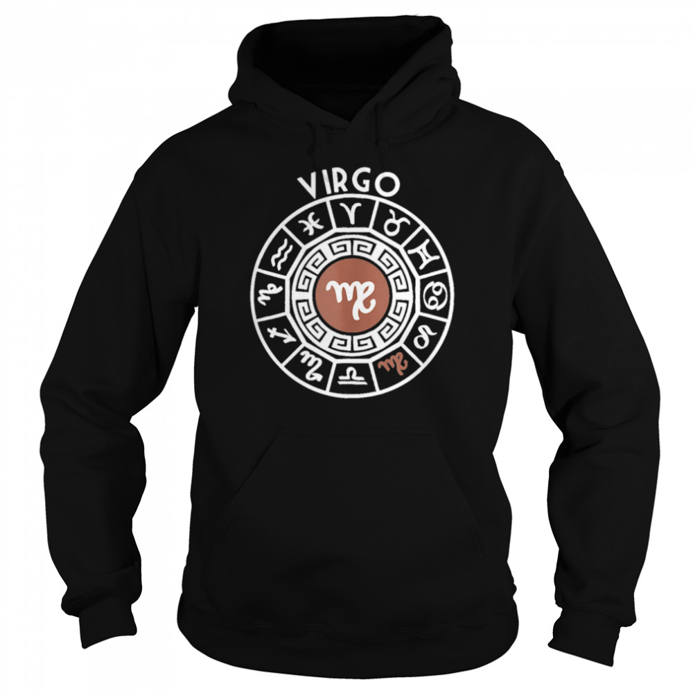 Virgo Zodiac Sign Horoscope Star Signs Astrology Birthday shirt Unisex Hoodie