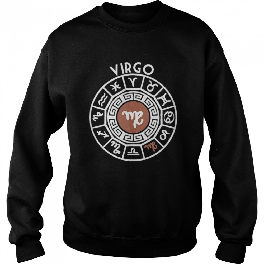 Virgo Zodiac Sign Horoscope Star Signs Astrology Birthday shirt Unisex Sweatshirt