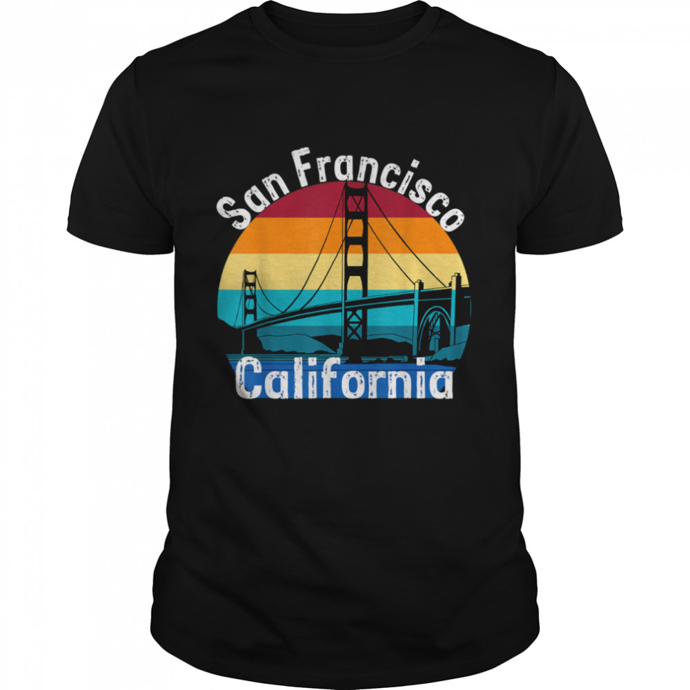 Vintage San Francisco California  Classic Men's T-shirt