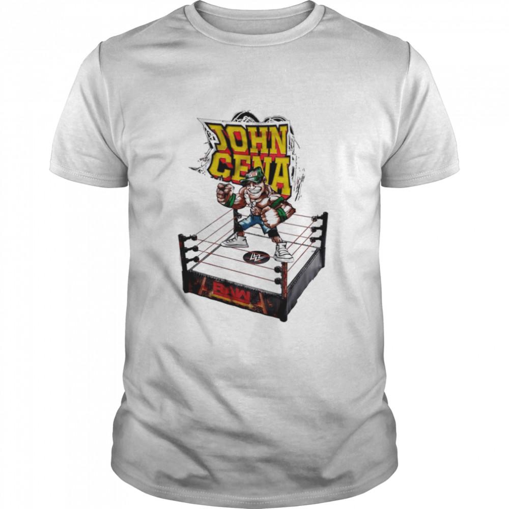 WWE John Cena Big Show Printed shirt Classic Men's T-shirt