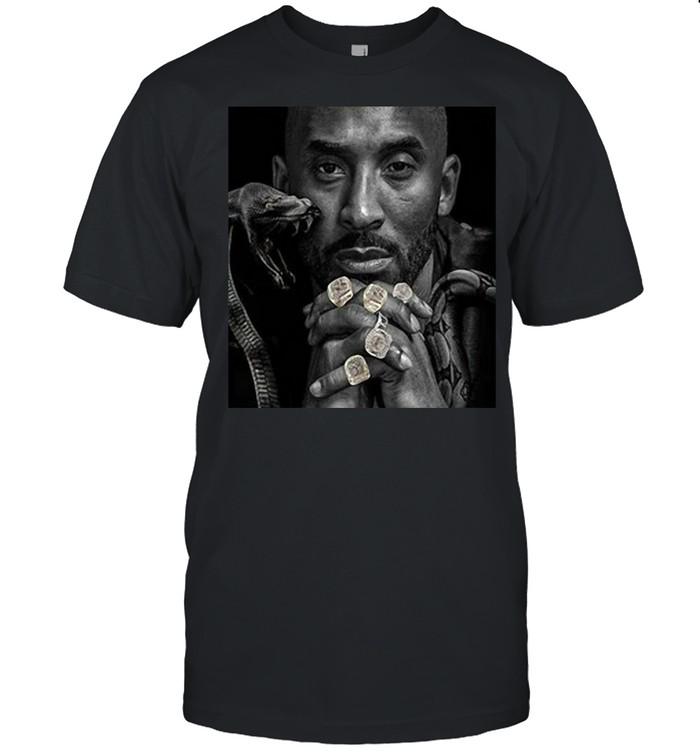 The Black Mamba Kobe Championship Rings  Classic Men's T-shirt