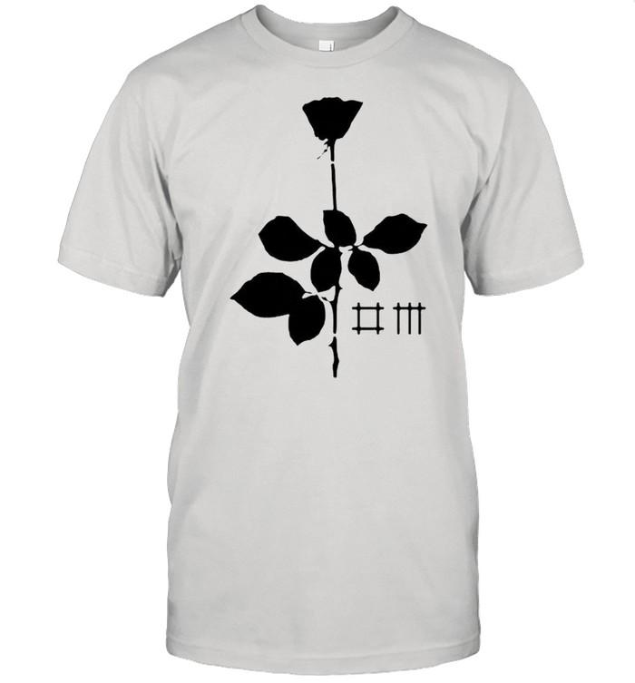 Black rose depeche mode shirt Classic Men's T-shirt