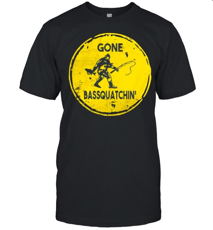Bigfoot sasquatch shirt Classic Men's T-shirt