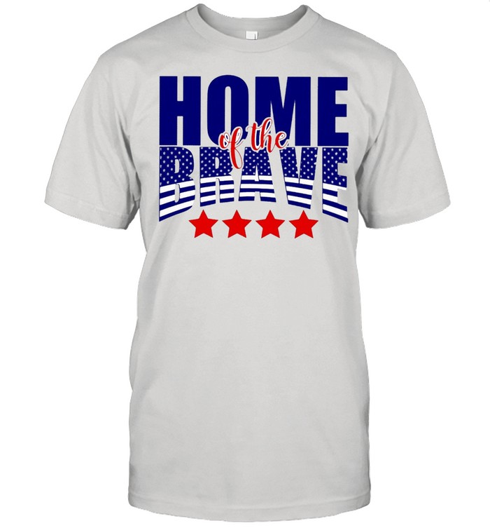 Home of the brave shirt Classic Men's T-shirt