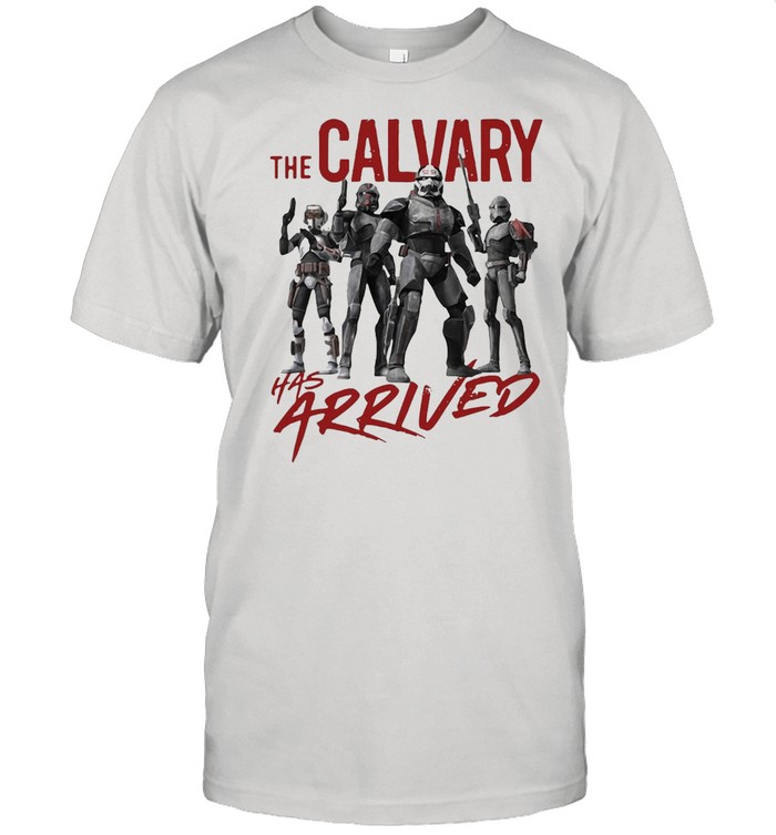 Star Wars The Bad Batch The Calvary Has Arrived T-shirt Classic Men's T-shirt