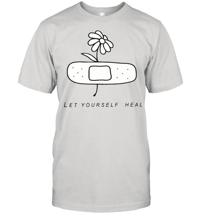 Mental Health Let Yourself Heal T-shirt Classic Men's T-shirt