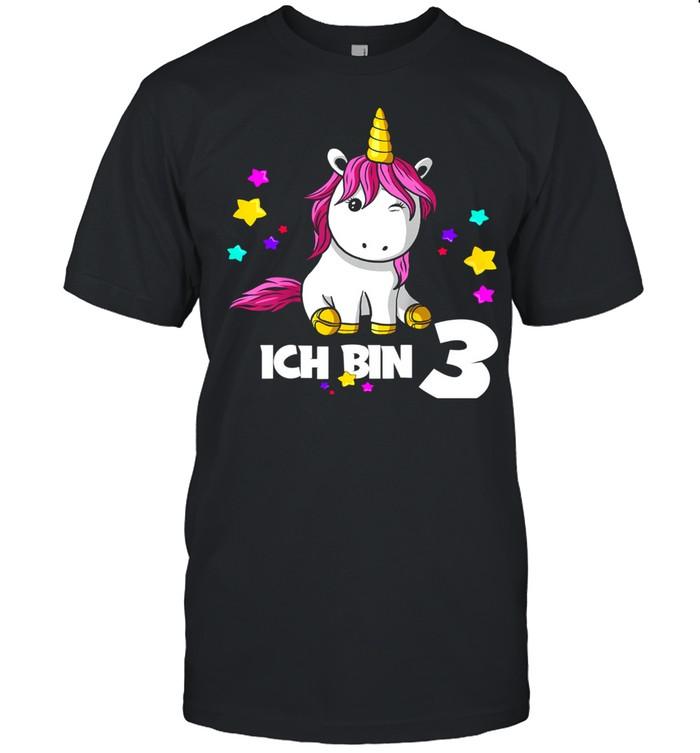 Kinder 3 Jahre Mädchen Einhorn shirt Classic Men's T-shirt