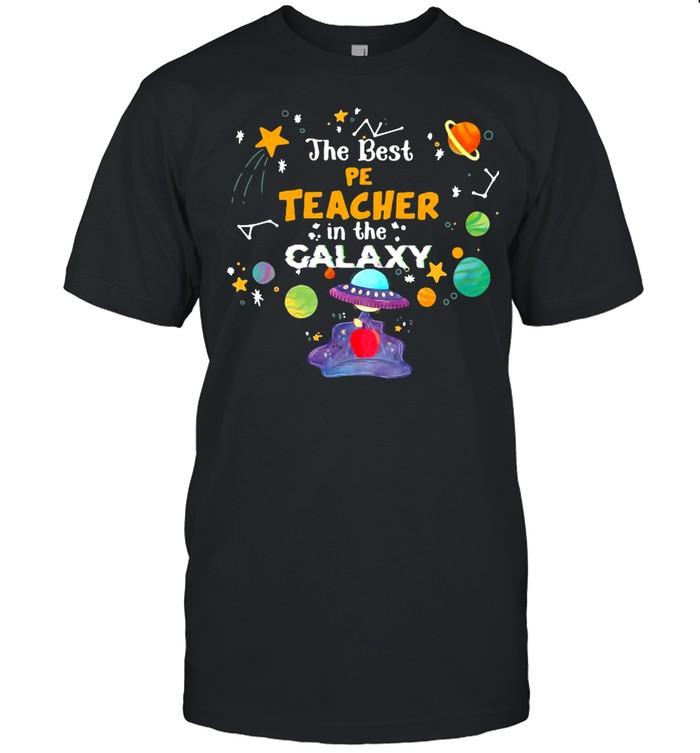 The Best Pe Teacher In The Galaxy T-shirt Classic Men's T-shirt
