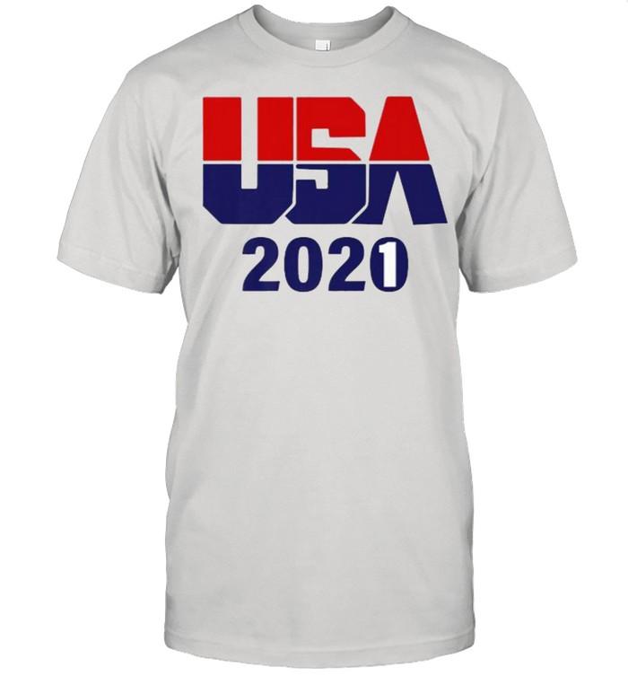 USA 2021 Gold Silver Bronze Athletes Tokyo T- Classic Men's T-shirt
