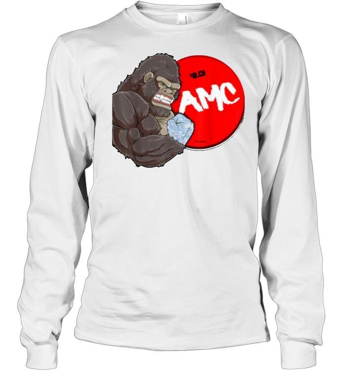 AMC-Handed Bigfoot T- Long Sleeved T-shirt