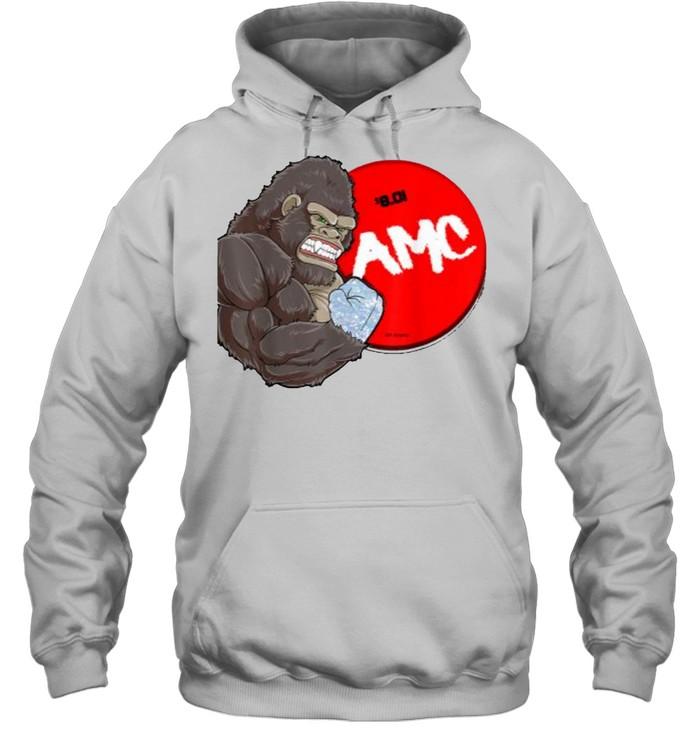 AMC-Handed Bigfoot T- Unisex Hoodie