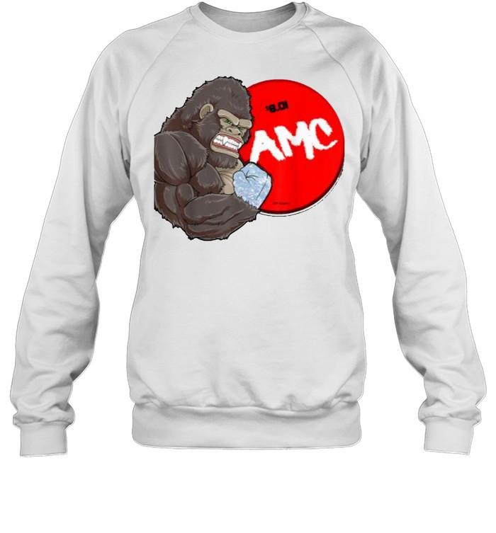 AMC-Handed Bigfoot T- Unisex Sweatshirt