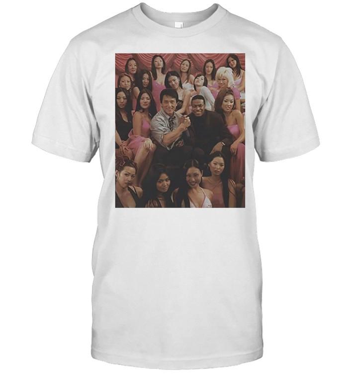Rush Hour 2 and Shanghai Knights shirt Classic Men's T-shirt