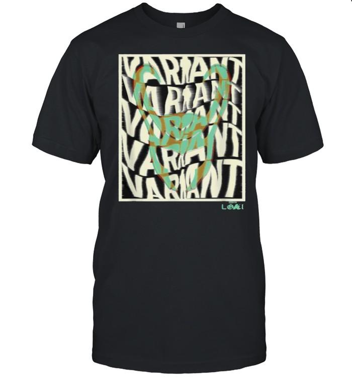 Marvel Loki Variant Word Stack T- Classic Men's T-shirt