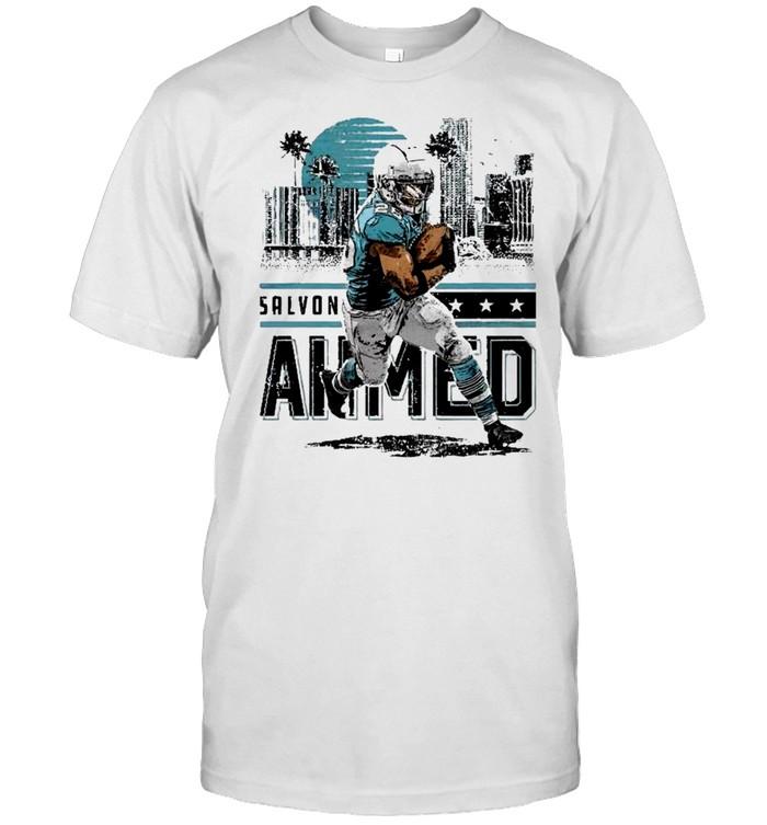 Miami Dolphins Salvon Ahmed Player City shirt Classic Men's T-shirt