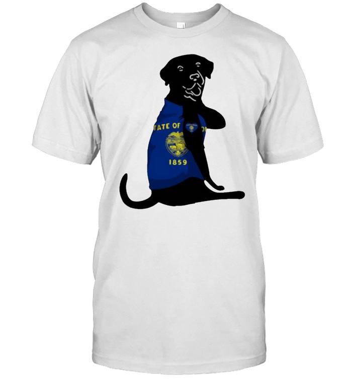Oregon dog Tate Of 1859 shirt Classic Men's T-shirt