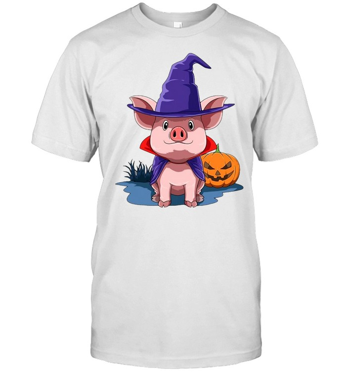 Pig Halloween Pumpkin Pig Owner T-shirt Classic Men's T-shirt