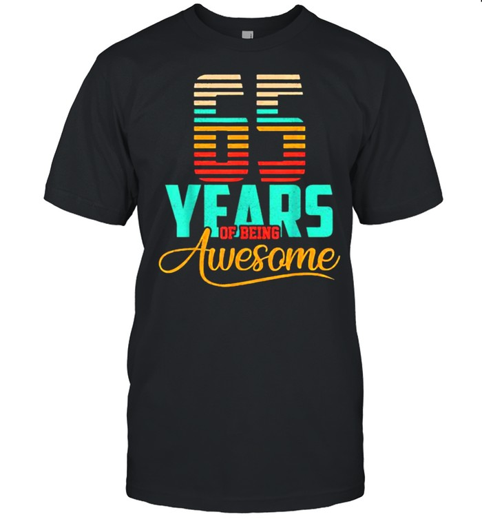 65 Years Of being Awesome T- Classic Men's T-shirt