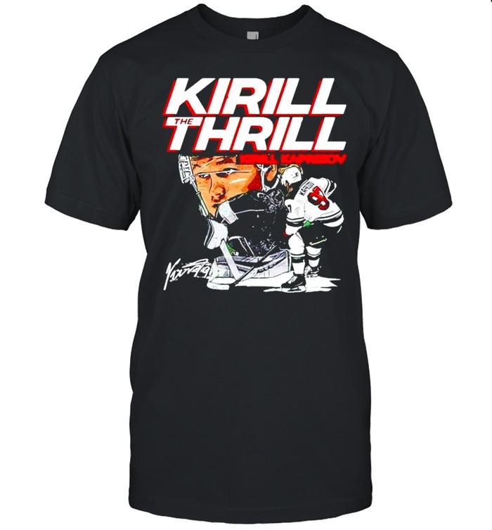 Kirill Kaprizov Kirill The Thrill Wht shirt Classic Men's T-shirt