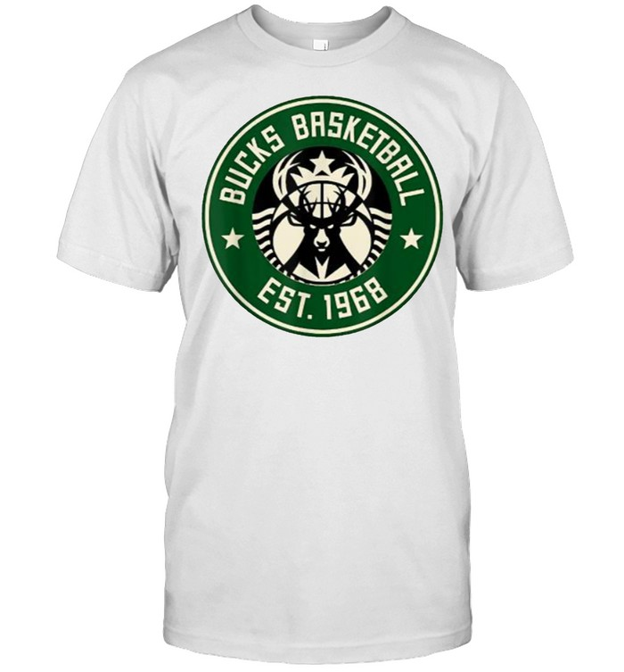 Bucks Baseketball EST 1968 milwaukee  Classic Men's T-shirt