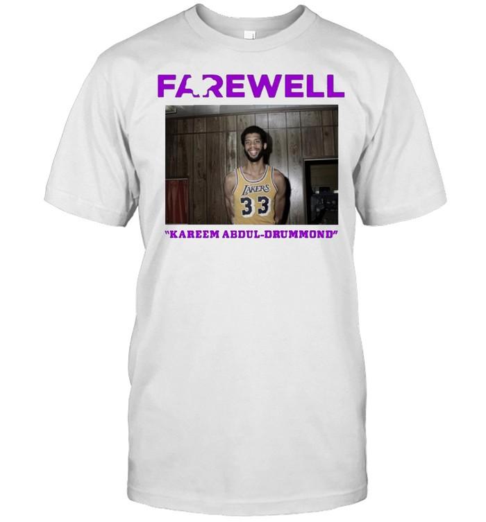 Kareem Abdul Drummond farewell shirt Classic Men's T-shirt