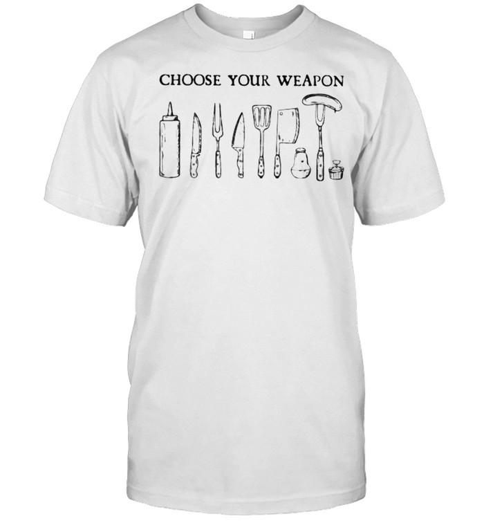 Choose you weapon shirt Classic Men's T-shirt