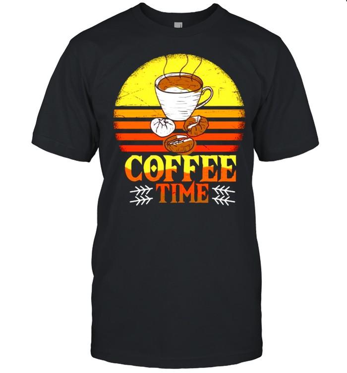Cup of Coffee Espresso Capucciono vinatage retro T- Classic Men's T-shirt