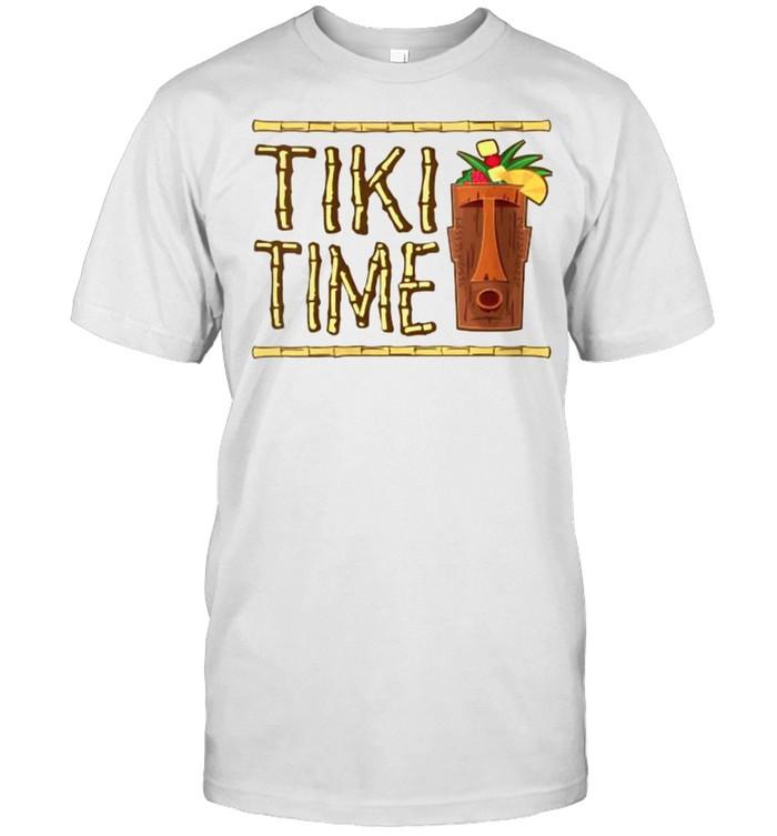 Tiki Time Bar Design T- Classic Men's T-shirt