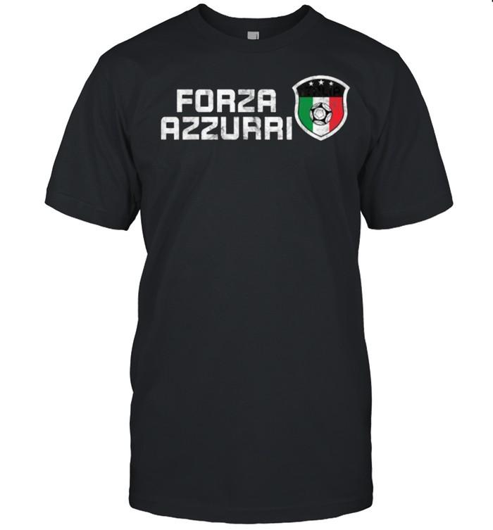 Forza Azzurri Jersey Football Team Italia Forza Azzurri  Classic Men's T-shirt