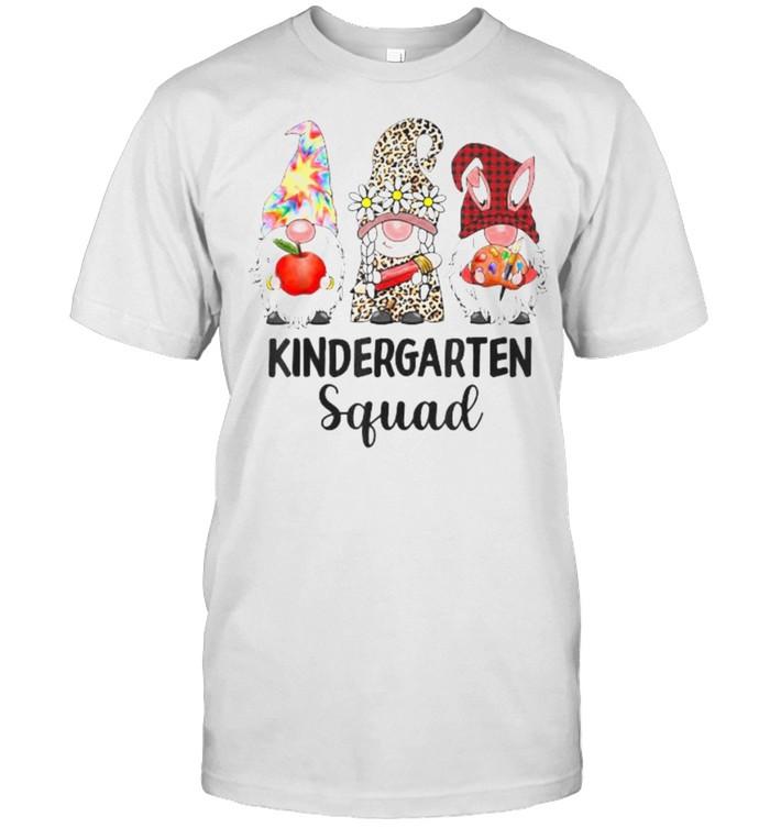Kindergarten Squad Gnome Student Squad Leopard Back to Schoo T- Classic Men's T-shirt