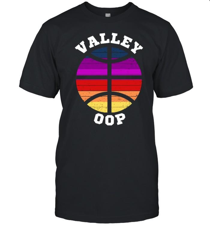 Phoenix Basketball Valley Oop  AZ Arizona Sunset Vintage  Classic Men's T-shirt