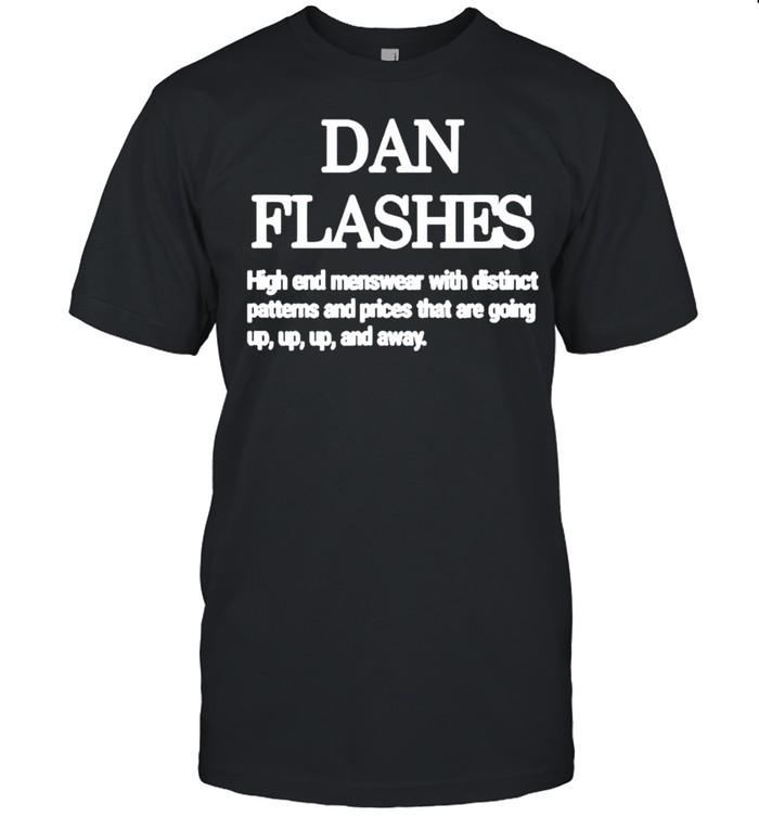 Dan Flashes high end menswear with distinct patterns shirt Classic Men's T-shirt