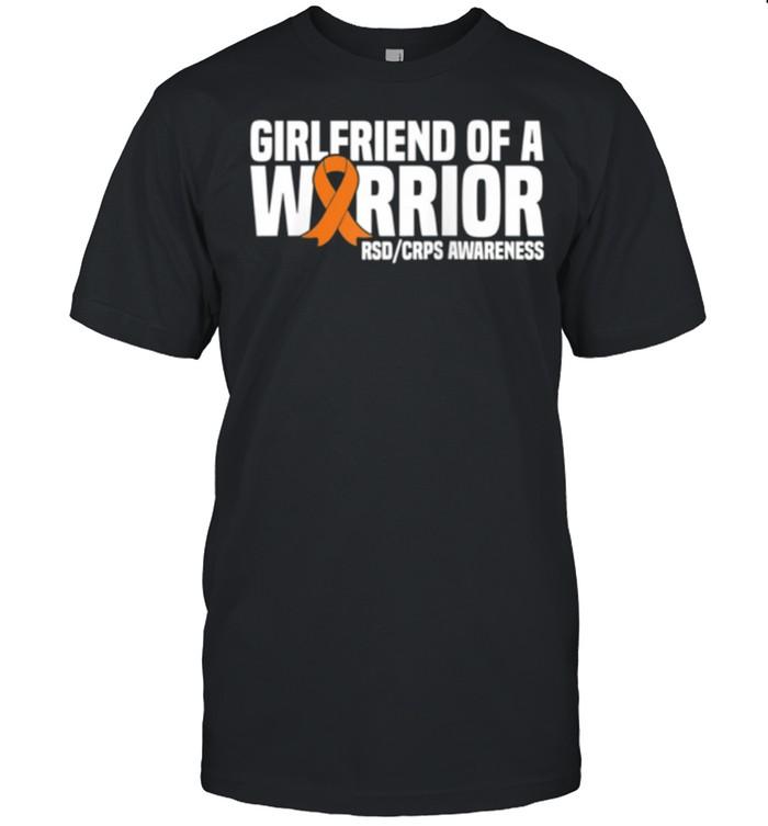 Girlfriend of a Warrior Orange Ribbon RSDCRPS Awareness shirt Classic Men's T-shirt
