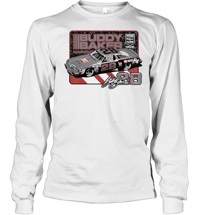Buddy Baker NASCAR Hall of Fame Class of 2020 Inductee shirt Long Sleeved T-shirt