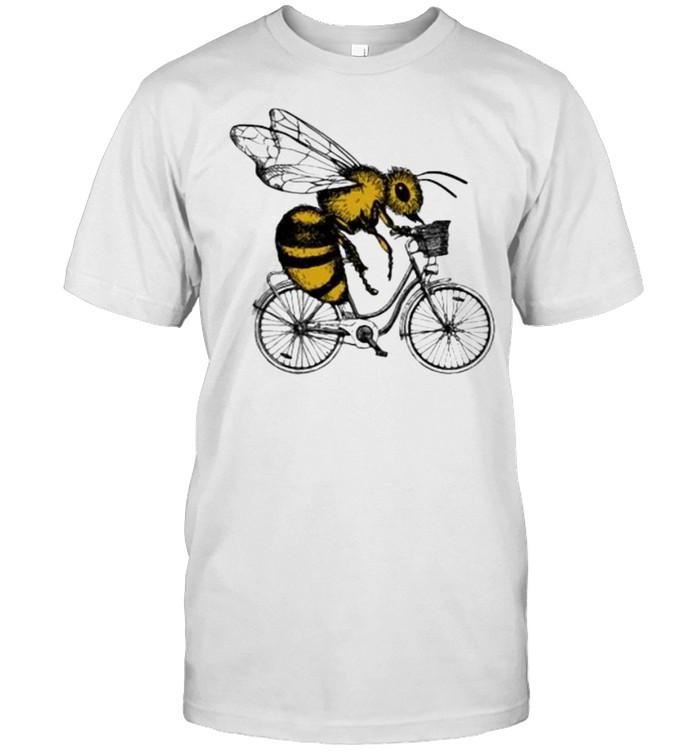 Bee Cycling  Classic Men's T-shirt
