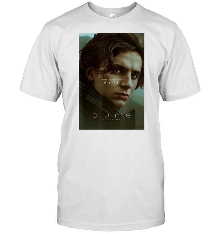 Paul Atreides Timothee Chalamet Dune 2021 T-shirt Classic Men's T-shirt