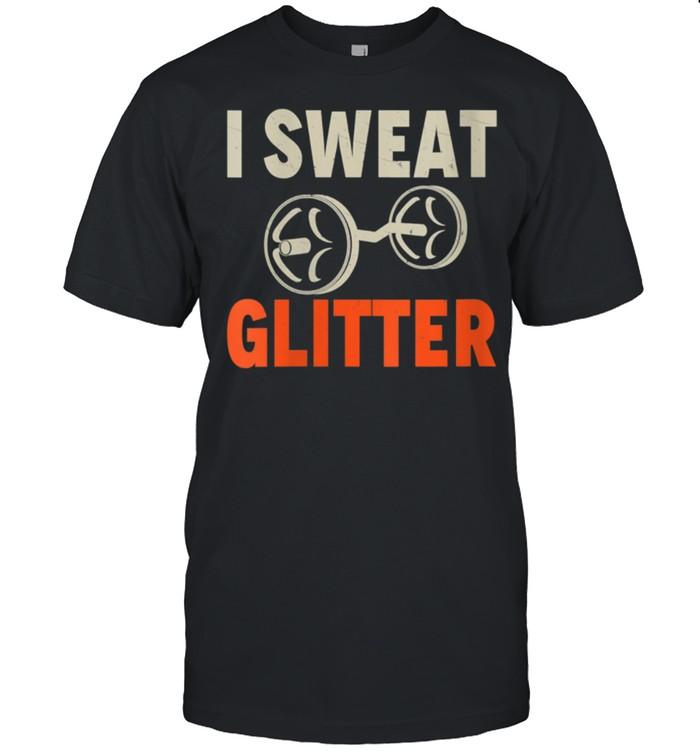 i sweat glitter T  Fitness Coach shirt Classic Men's T-shirt