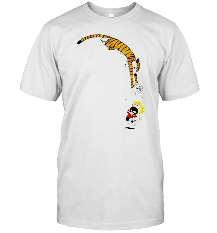 Calvin and Hobbes Jump shirt Classic Men's T-shirt