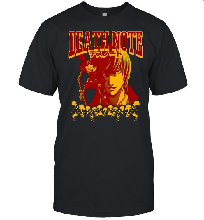 Death Note Yagami Raito Ryuk Manga T-shirt Classic Men's T-shirt