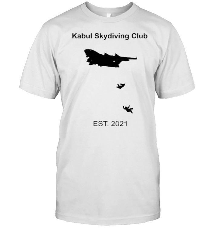 Kabul Skydiving Club Est 2021 – Afghanistan Airport T- Classic Men's T-shirt